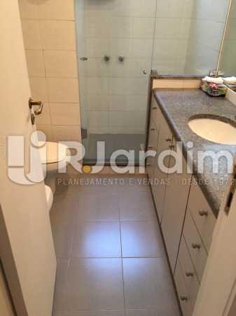 Banheiro social - Apartamento À VENDA, Leblon, Rio de Janeiro, RJ - LAAP31179 - 20