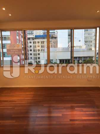 Sala 2 ambientes - Apartamento À VENDA, Leblon, Rio de Janeiro, RJ - LAAP31179 - 1