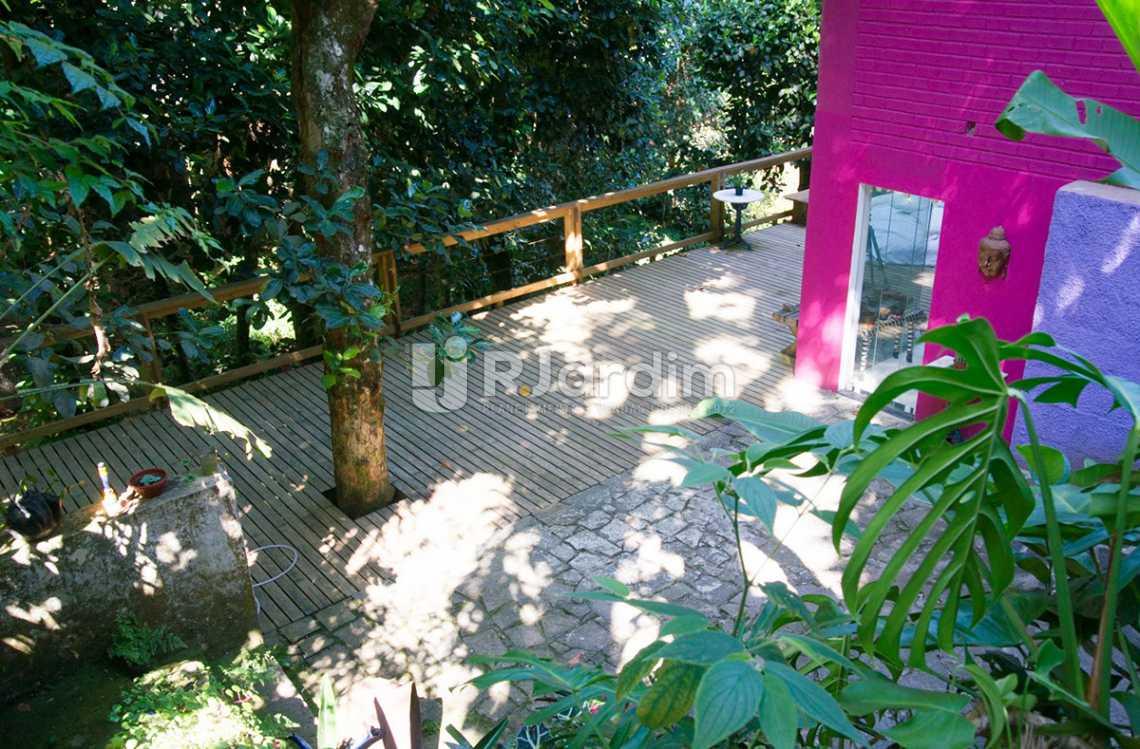 vista / deck  - Casa em Condomínio Triplex Residencial São Conrado 4 Quartos - LACN40009 - 4