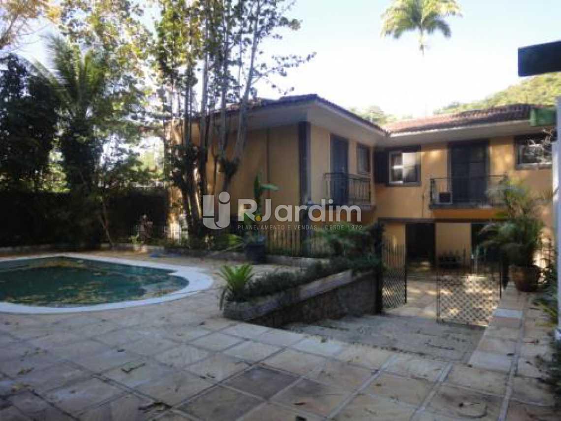 casa/área externa  - Casa 5 quartos à venda Gávea, Zona Sul,Rio de Janeiro - R$ 5.500.000 - LACA50016 - 3