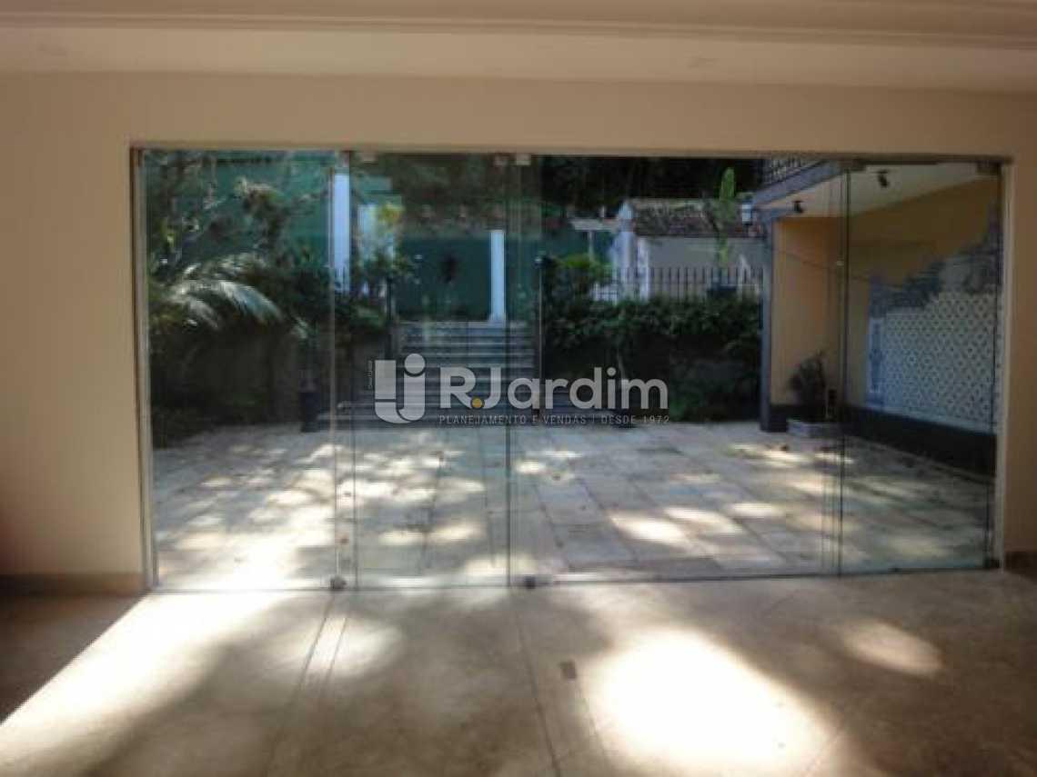 vista da sala / entrada  - Casa 5 quartos à venda Gávea, Zona Sul,Rio de Janeiro - R$ 5.500.000 - LACA50016 - 6