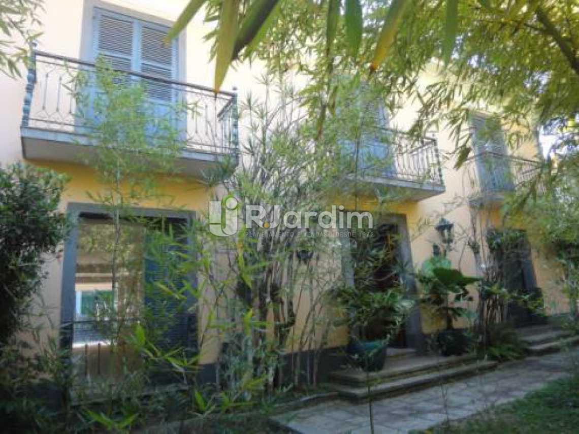 fachada lateral  - Casa 5 quartos à venda Gávea, Zona Sul,Rio de Janeiro - R$ 5.500.000 - LACA50016 - 7