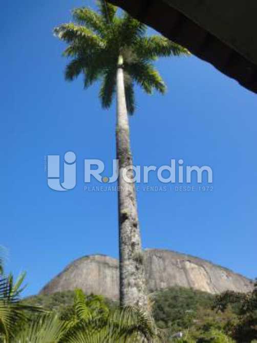 vista do terraço  - Casa 5 quartos à venda Gávea, Zona Sul,Rio de Janeiro - R$ 5.500.000 - LACA50016 - 23