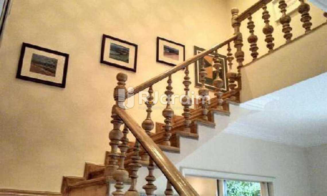 escada liinear  - Casa 5 quartos à venda Gávea, Zona Sul,Rio de Janeiro - R$ 5.500.000 - LACA50016 - 13