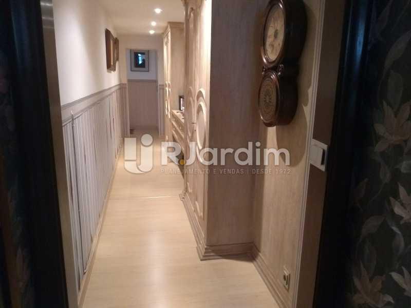 circulação - Apartamento 4 quartos à venda Jardim Botânico, Zona Sul,Rio de Janeiro - R$ 4.100.000 - LAAP40511 - 13