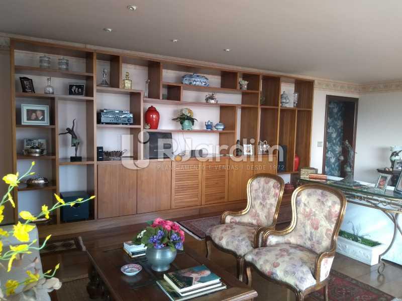 sala - Apartamento 4 quartos à venda Jardim Botânico, Zona Sul,Rio de Janeiro - R$ 4.100.000 - LAAP40511 - 12