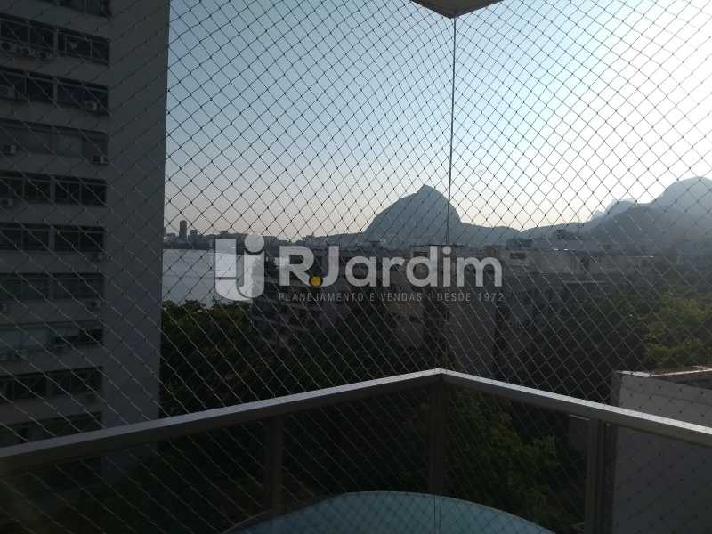 varanda vista Lagoa - Apartamento 4 quartos à venda Jardim Botânico, Zona Sul,Rio de Janeiro - R$ 4.100.000 - LAAP40511 - 6