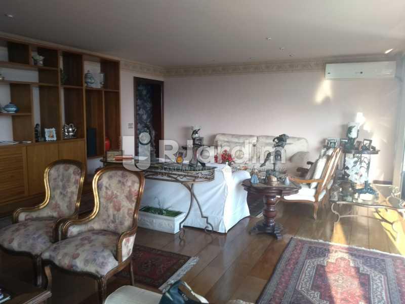 sala - Apartamento 4 quartos à venda Jardim Botânico, Zona Sul,Rio de Janeiro - R$ 4.100.000 - LAAP40511 - 10