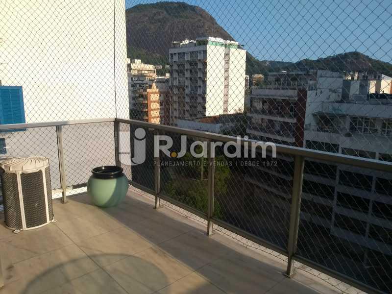 varanda  - Apartamento 4 quartos à venda Jardim Botânico, Zona Sul,Rio de Janeiro - R$ 4.100.000 - LAAP40511 - 7