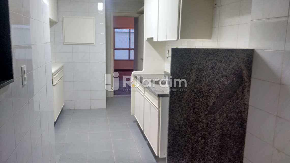 cozinha  - Apartamento PARA ALUGAR, Leblon, Rio de Janeiro, RJ - LAAP40522 - 16