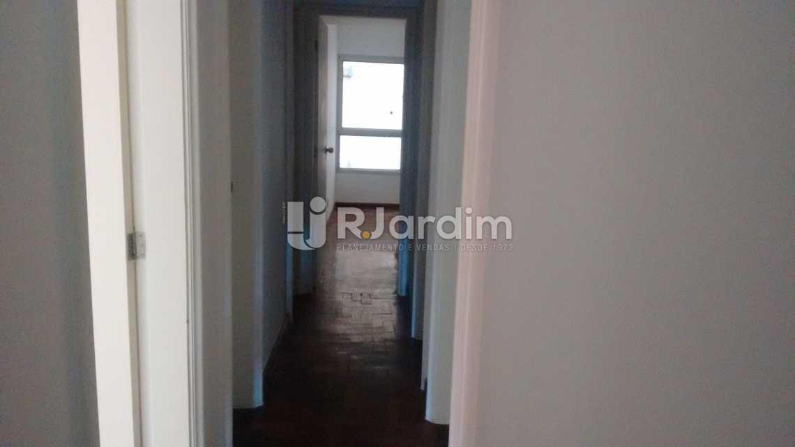 acesso aos quartos  - Apartamento PARA ALUGAR, Leblon, Rio de Janeiro, RJ - LAAP40522 - 7