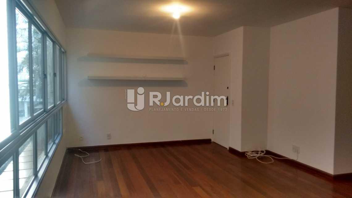 sala / entrada social  - Apartamento PARA ALUGAR, Leblon, Rio de Janeiro, RJ - LAAP40522 - 5