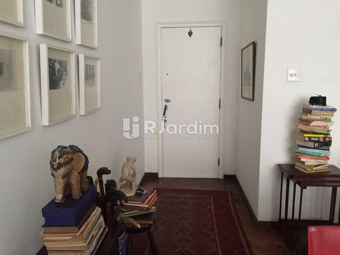 Hall Social - Apartamento À VENDA, Leblon, Rio de Janeiro, RJ - LAAP31217 - 3