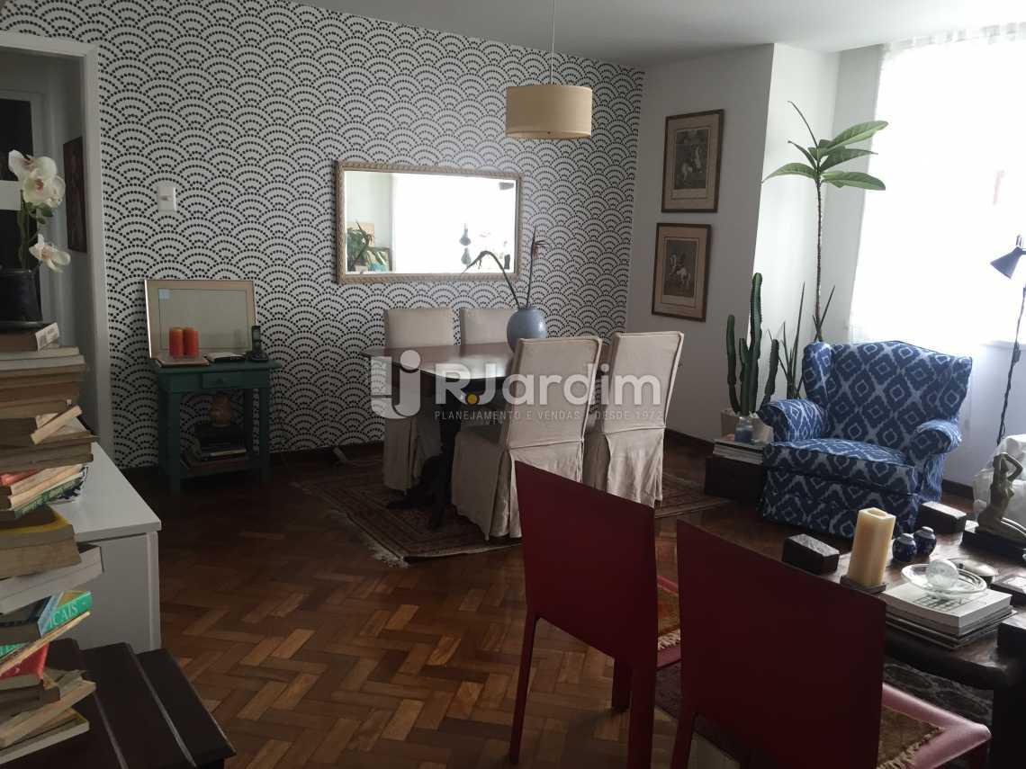 Vista da sala de Jantar - Apartamento À VENDA, Leblon, Rio de Janeiro, RJ - LAAP31217 - 1