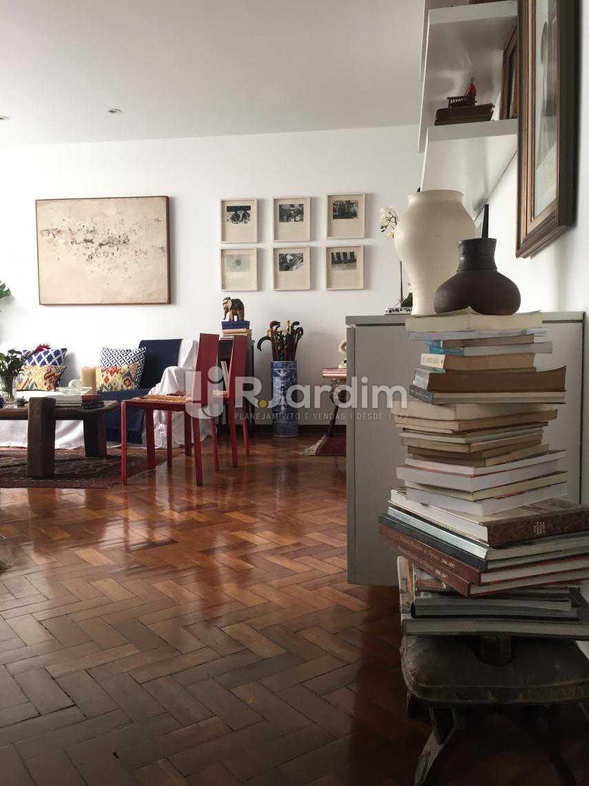Sala bem Espaçosa - Apartamento À VENDA, Leblon, Rio de Janeiro, RJ - LAAP31217 - 7