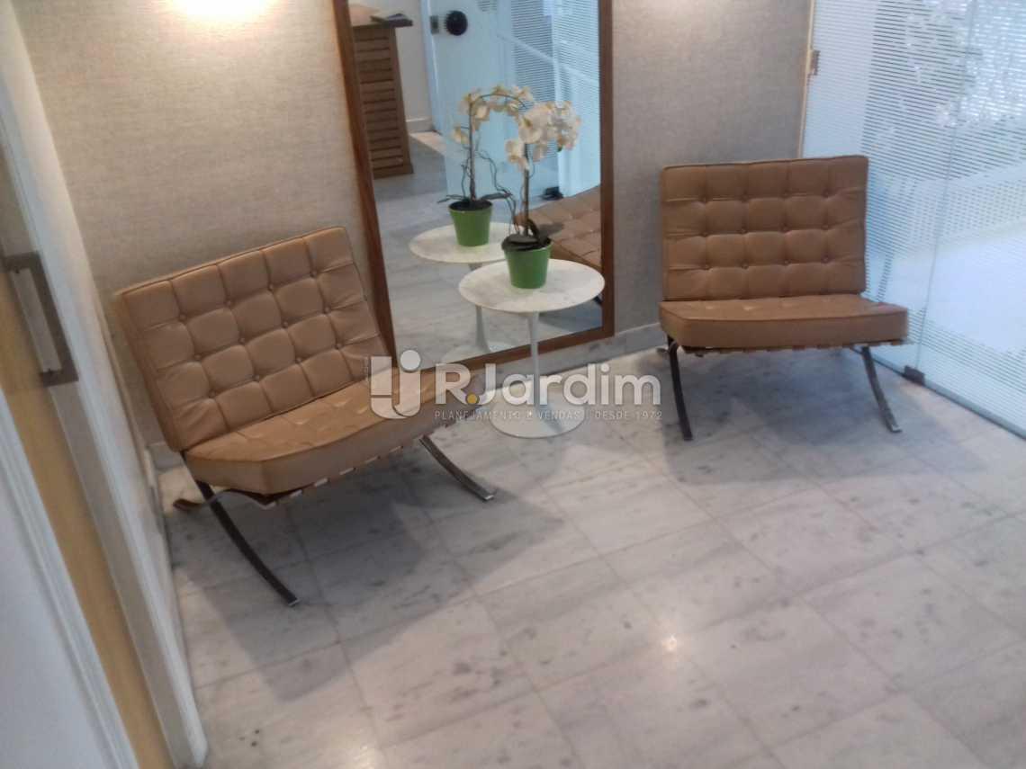 Decoração da portaria - Apartamento À VENDA, Leblon, Rio de Janeiro, RJ - LAAP31217 - 11