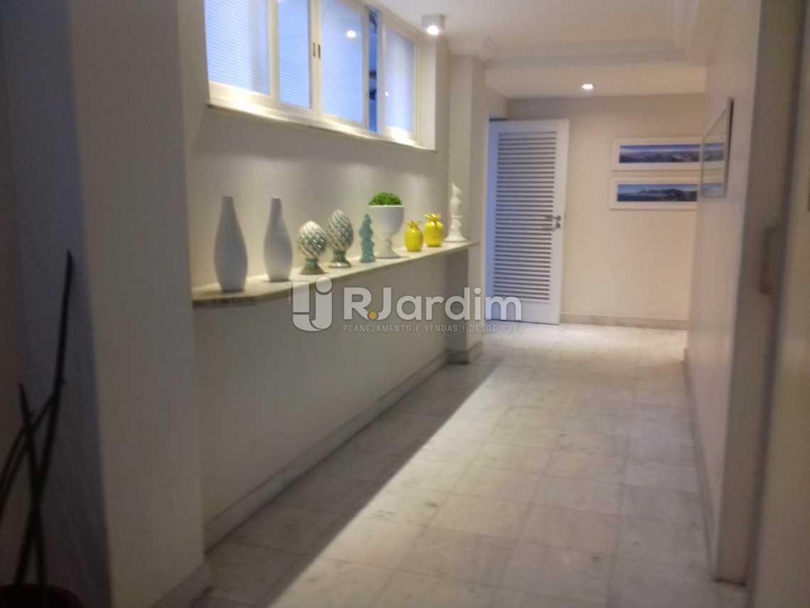 Hal de acesso aos Elevadores - Apartamento À VENDA, Leblon, Rio de Janeiro, RJ - LAAP31217 - 12