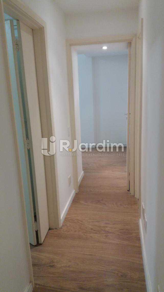 Acesso aos quartos - Apartamento À VENDA, Copacabana, Rio de Janeiro, RJ - LAAP31231 - 14