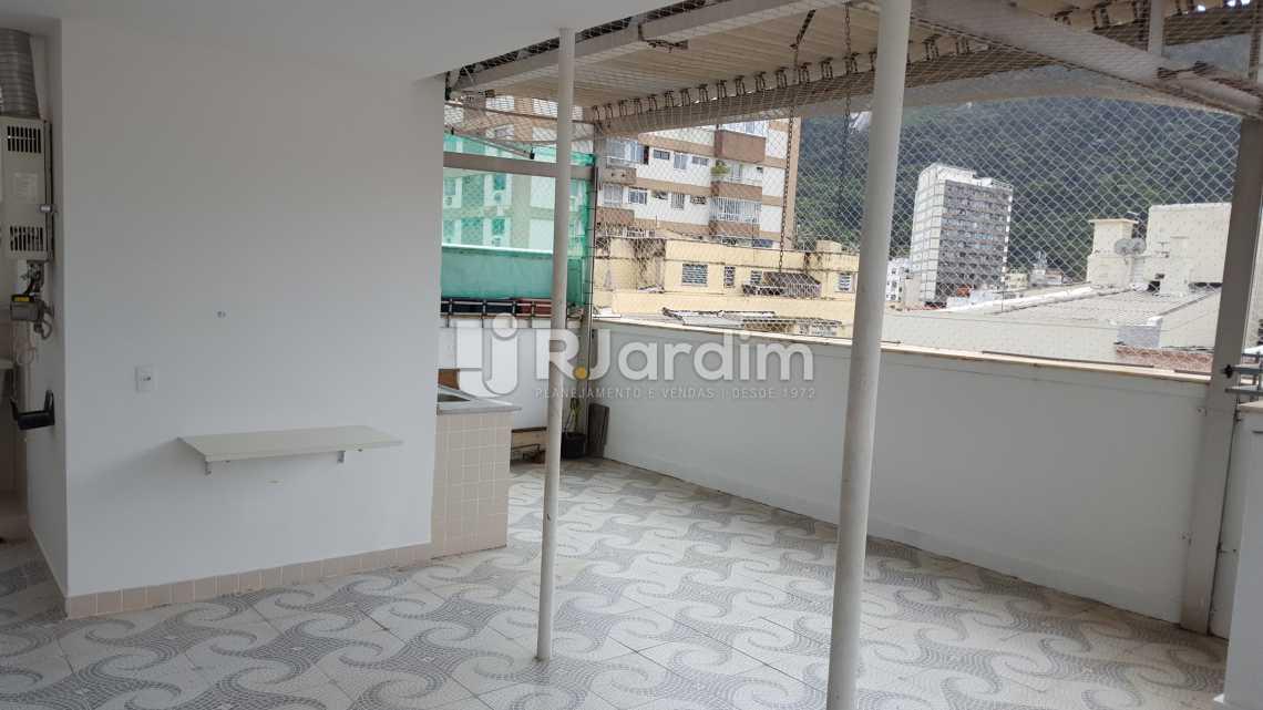 Terraço - Aluguel Cobertura Botafogo 3 Quartos - LACO30172 - 13