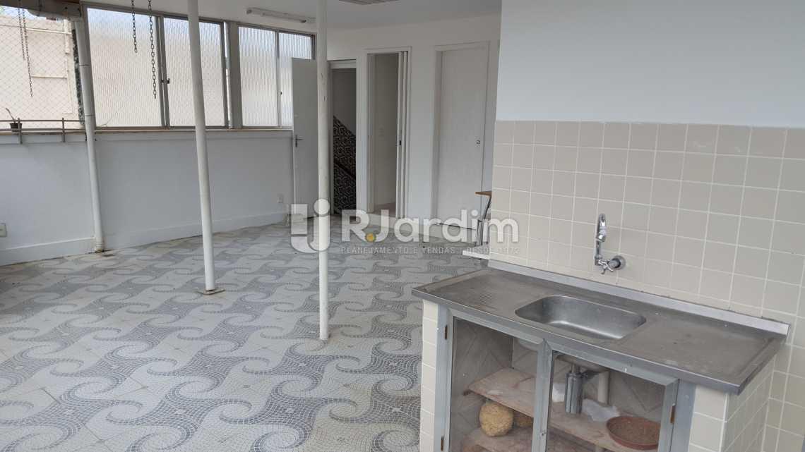 Terraço - Aluguel Cobertura Botafogo 3 Quartos - LACO30172 - 14