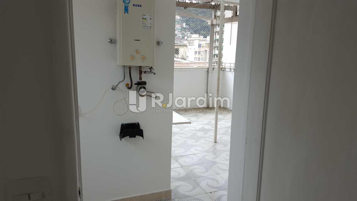 Área de serviço - Aluguel Cobertura Botafogo 3 Quartos - LACO30172 - 18