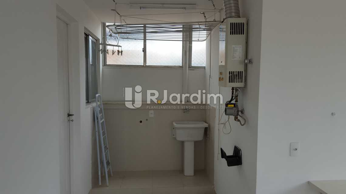Área de serviço - Aluguel Cobertura Botafogo 3 Quartos - LACO30172 - 19