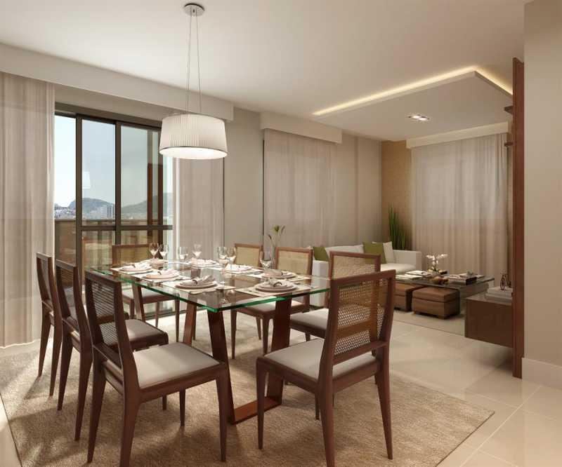 largodospalaciosbotafogo 14 - Apartamento 3 quartos à venda Botafogo, Zona Sul,Rio de Janeiro - R$ 1.200.000 - LAAP31242 - 14
