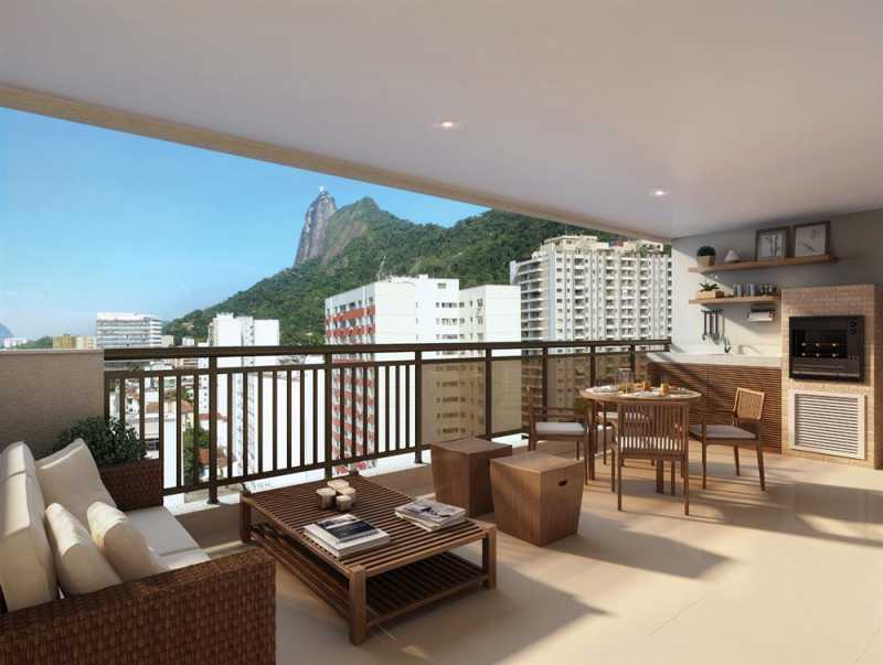 largodospalaciosbotafogo 15 - Apartamento 3 quartos à venda Botafogo, Zona Sul,Rio de Janeiro - R$ 1.200.000 - LAAP31242 - 15