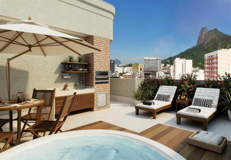 largodospalaciosbotafogo 17 - Apartamento 3 quartos à venda Botafogo, Zona Sul,Rio de Janeiro - R$ 1.200.000 - LAAP31242 - 17