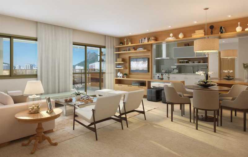 largodospalaciosbotafogo 18 - Apartamento 3 quartos à venda Botafogo, Zona Sul,Rio de Janeiro - R$ 1.200.000 - LAAP31242 - 18