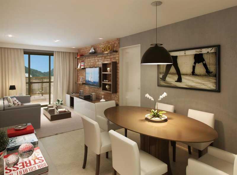 largodospalaciosbotafogo 19 - Apartamento 3 quartos à venda Botafogo, Zona Sul,Rio de Janeiro - R$ 1.200.000 - LAAP31242 - 19