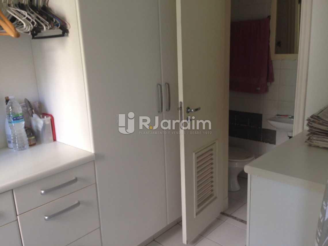 Quato de Empregada - Apartamento À Venda - Lagoa - Rio de Janeiro - RJ - LAAP31249 - 21