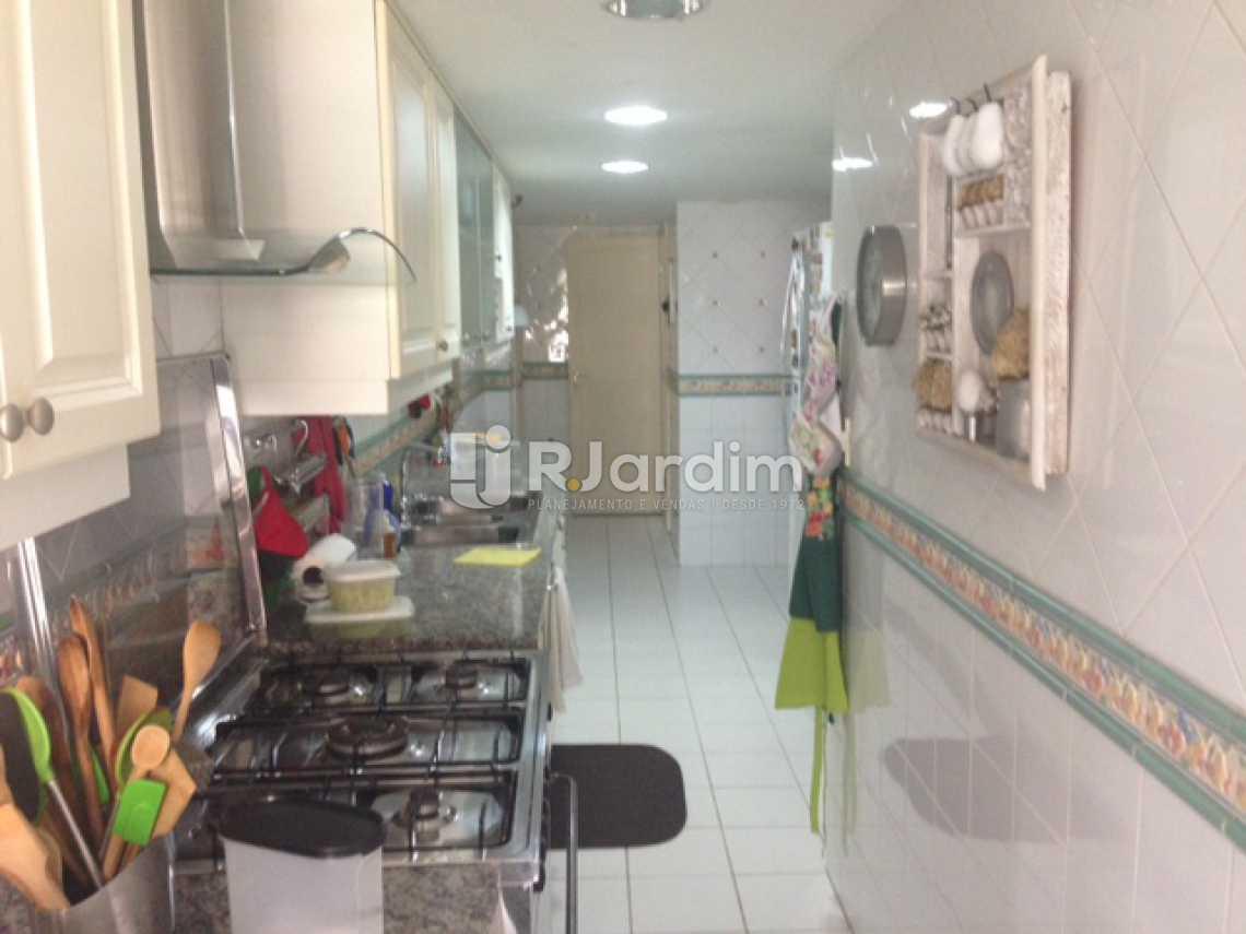 Copa-cozinha - Apartamento À Venda - Lagoa - Rio de Janeiro - RJ - LAAP31249 - 22