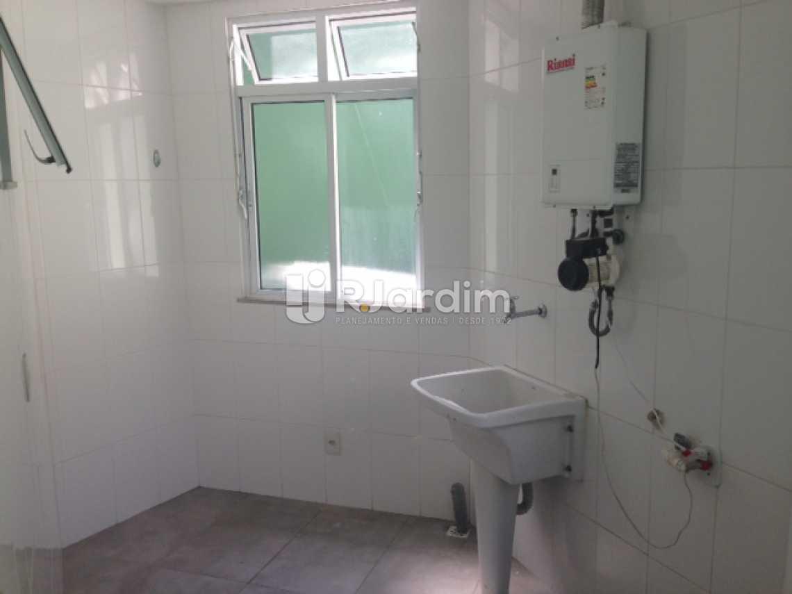 Área de Serviço - Apartamento Padrão Residencial Humaitá - LAAP31250 - 19