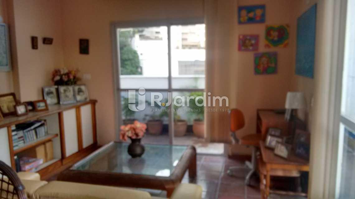 quarto / terraço  - Cobertura Residencial Lagoa - LACO40108 - 9