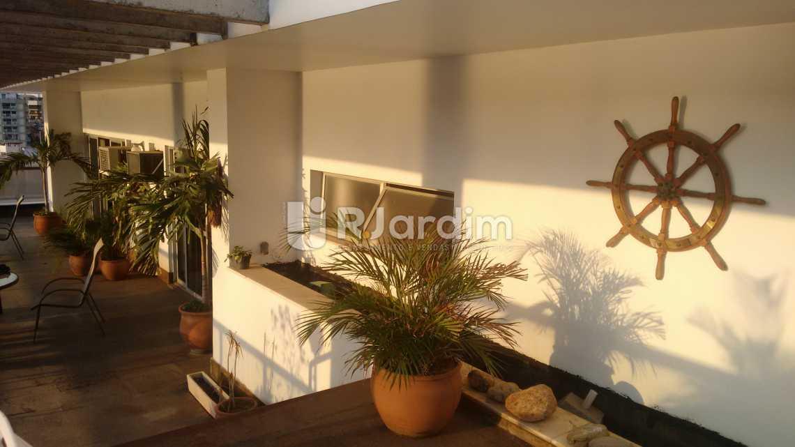 terraço - Cobertura Residencial Lagoa - LACO40108 - 12