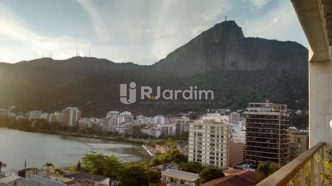 vista / terraço  - Cobertura Residencial Lagoa - LACO40108 - 11