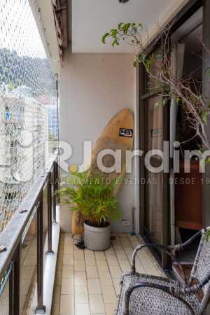 Varanda - Apartamento À Venda - Gávea - Rio de Janeiro - RJ - LAAP31262 - 7