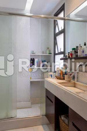 Banheiro da Suíte - Apartamento À Venda - Gávea - Rio de Janeiro - RJ - LAAP31262 - 11