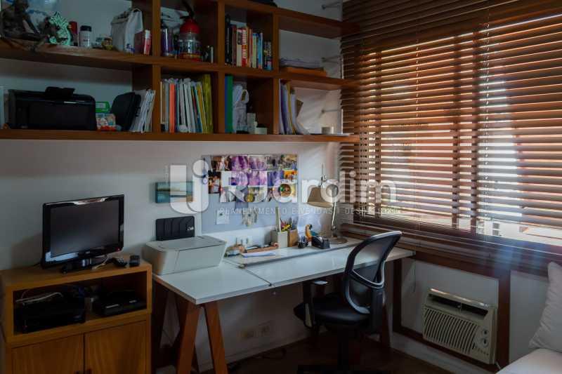 Quarto 1 - Apartamento À Venda - Gávea - Rio de Janeiro - RJ - LAAP31262 - 13
