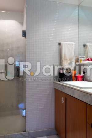 Banheiro Social - Apartamento À Venda - Gávea - Rio de Janeiro - RJ - LAAP31262 - 16