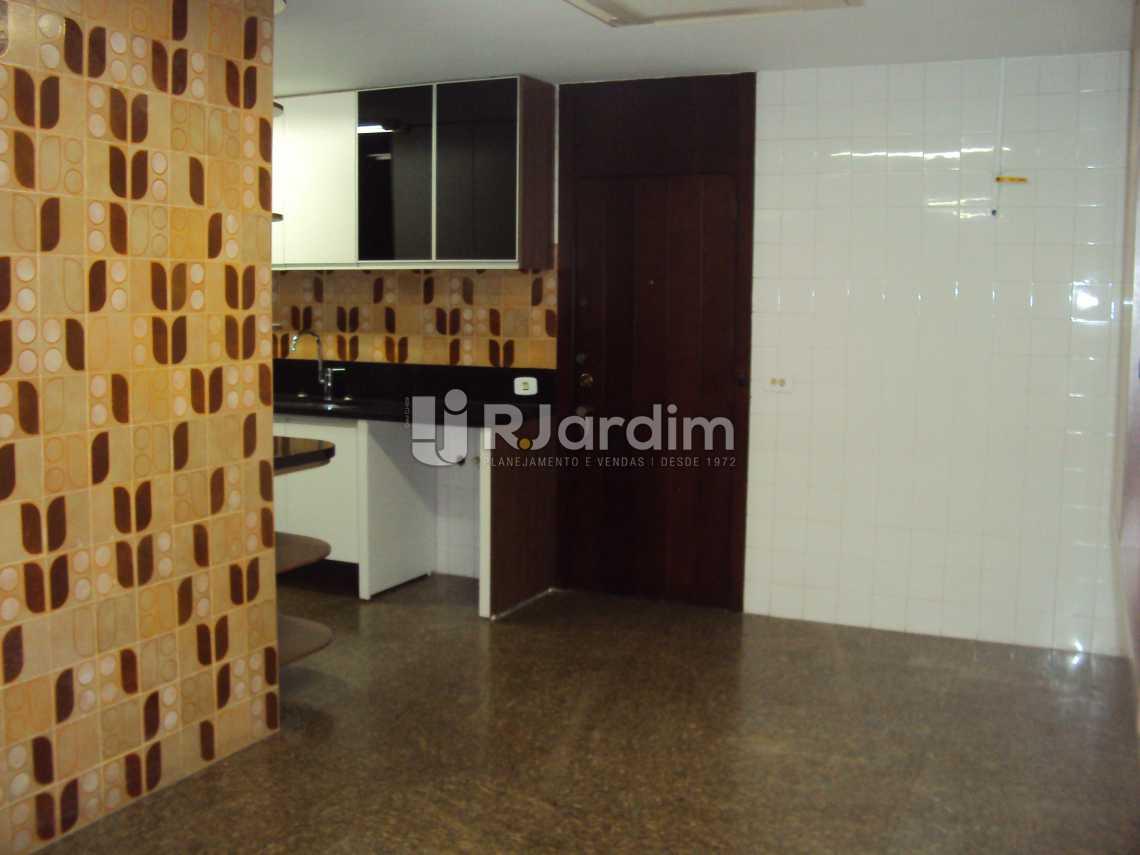 cozinha - Compra Venda Avaliação Imóveis Apartamento Lagoa 4 Quartos - LAAP40530 - 13