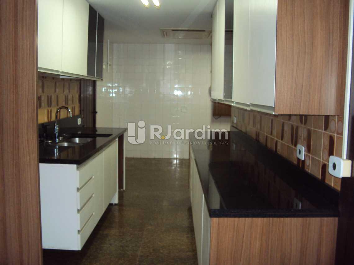 cozinha - Compra Venda Avaliação Imóveis Apartamento Lagoa 4 Quartos - LAAP40530 - 14