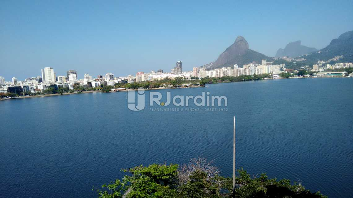 Vistão frontal Lagoa  - Apartamento Padrão Residencial Lagoa - LAAP31268 - 1