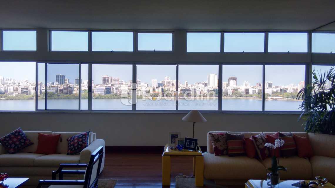 Salão - Apartamento Padrão Residencial Lagoa - LAAP31268 - 3