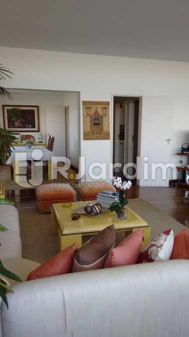 Salão de estar - Apartamento Padrão Residencial Lagoa - LAAP31268 - 5