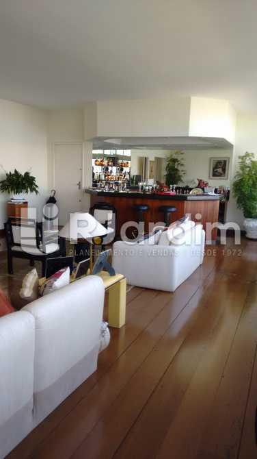 Salão de estar e bar - Apartamento Padrão Residencial Lagoa - LAAP31268 - 6