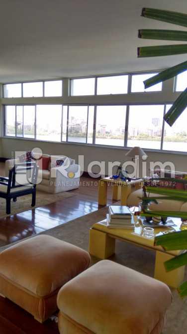 Salão de estar - Apartamento Padrão Residencial Lagoa - LAAP31268 - 7