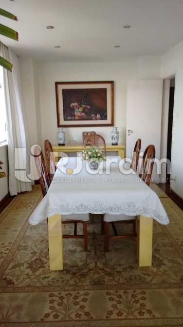Sala de jantar - Apartamento Padrão Residencial Lagoa - LAAP31268 - 8