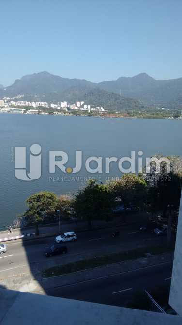 Vista da sala de jantar - Apartamento Padrão Residencial Lagoa - LAAP31268 - 9